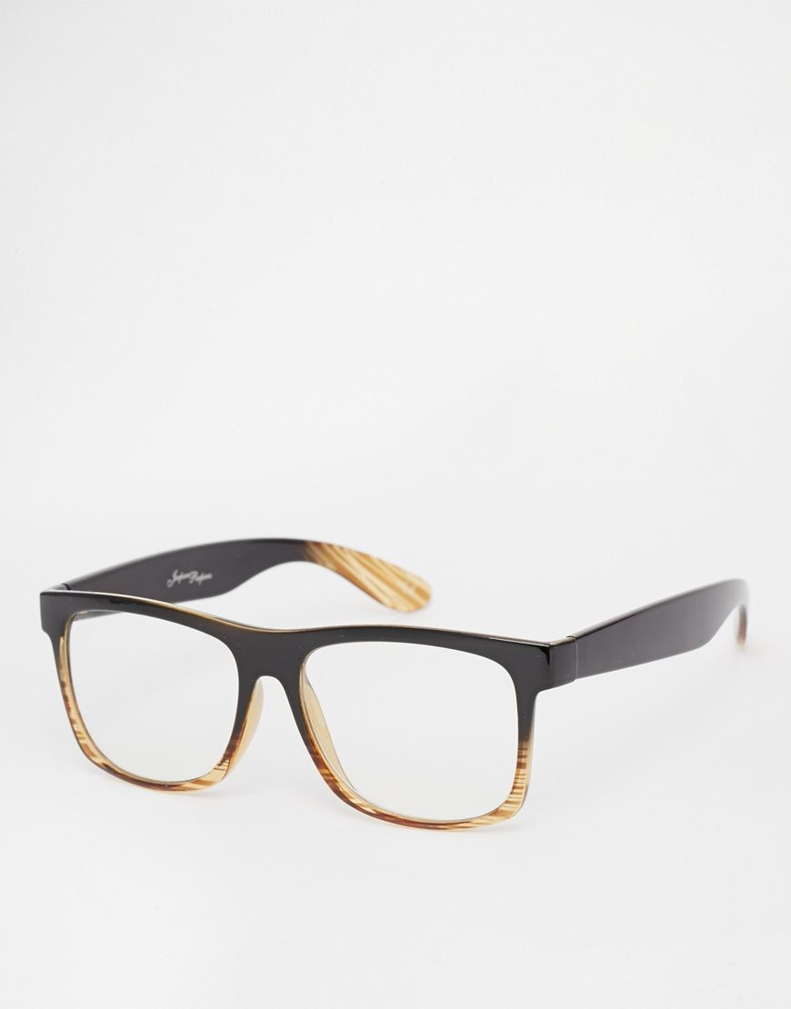 Jeepers Peepers Clear Lens Wayfarer Glasses | SpecTacLes | Pinterest ...
