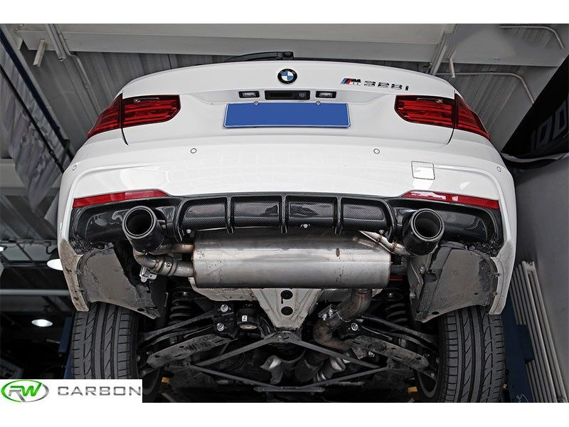 Bmw F30 F31 Performance Style Carbon Fiber Diffuser With Images