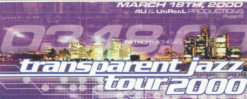 :::code313::: party transparent jazz tour boo williams, dj translucent  detroit, mi  march 18,2000
