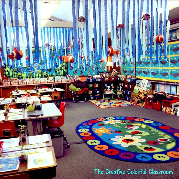Art Decoration Ideas For Classroom ~ The creative colorful classroom open house and our ocean