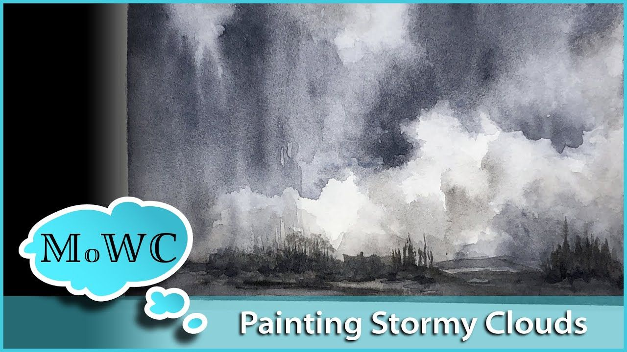 Stormy Clouds Demo Daniel Smith Signature Grays Review