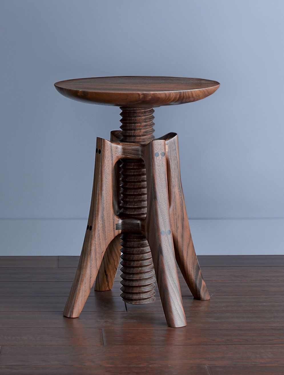 Piano Stool by James Pearce. This extraordinary stool is a testament to Pearceu0027s ingenious engineering & Piano Stool in Walnut by James Pearce (Wood Stool | Piano stool ... islam-shia.org