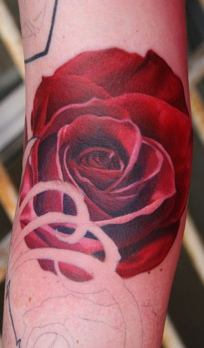 Wonderful No Outline Red Rose Tattoo Without Shading New Flower Tattoos August Rose Tattoo On Arm Rose Tattoo Red Rose Tattoo