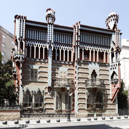 Casa vicens antonio gaudi the long 19th century architecture pinterest gaudi and - Casa vives gaudi ...