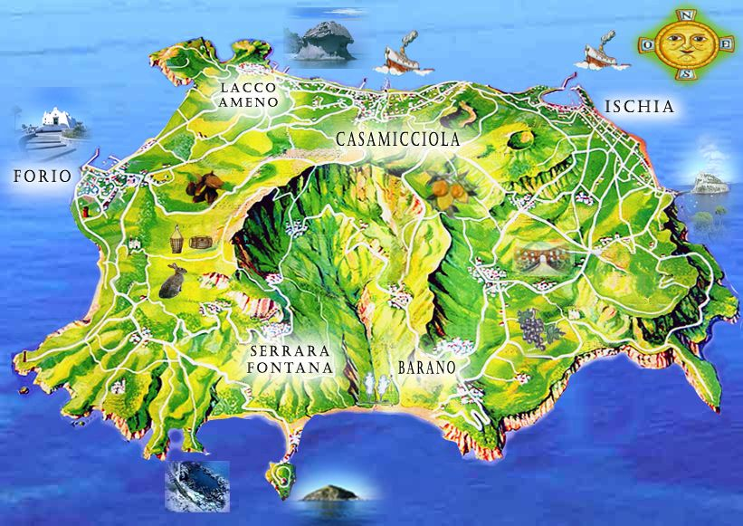 ischia Italy Italia Pinterest Italia map Italia and Bella italia