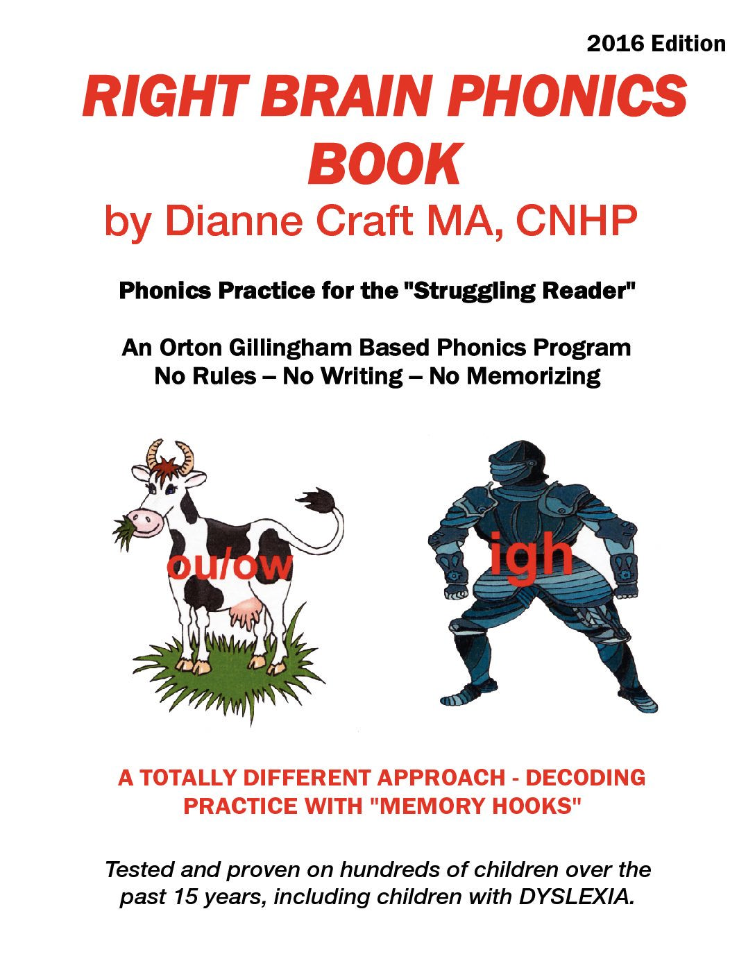 Right Brain Phonics Reading Book In