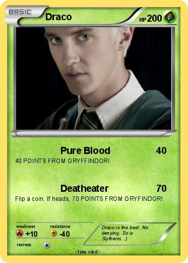 My Pokemon Card Harry Potter Pokemon Cards Card Maker