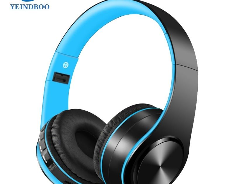1860d81e1f5 Buy Online YEINDBOO Fashion Wireless Headphones Bluetooth Headset Headphone  Earbuds Earphones With Microphone For PC mobile