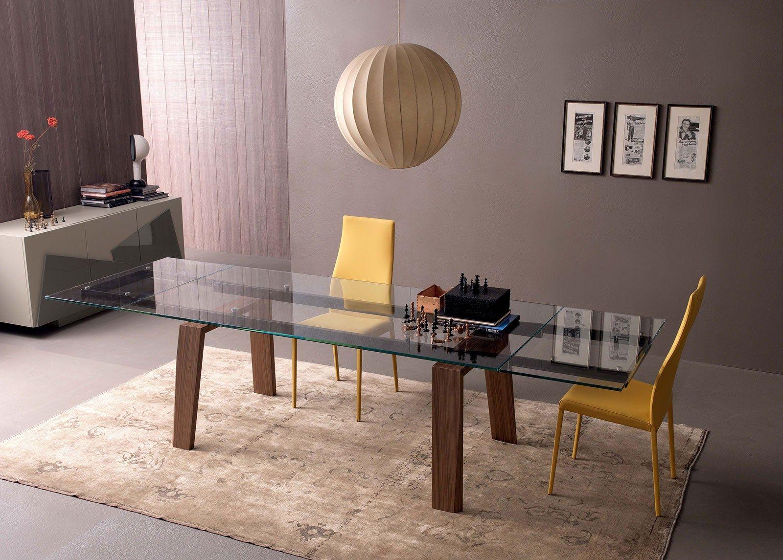 Tavolo allargabile ~ Tavolo allungabile da pranzo rettangolare plano by ozzio design