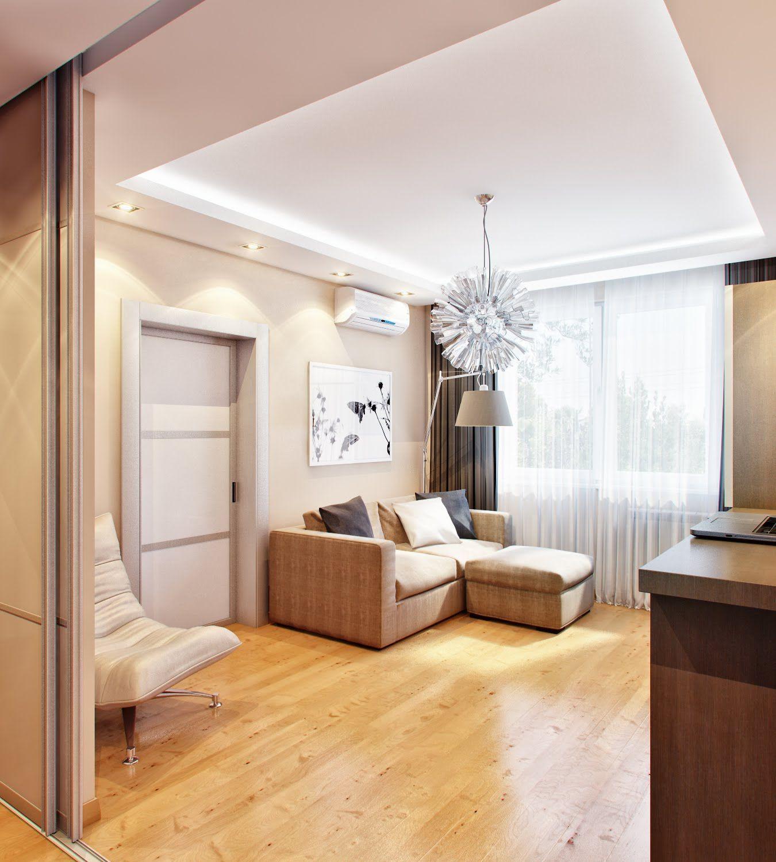 Schöne Kleine Wohnzimmer Modernen Design Inspirationen Häufig ...