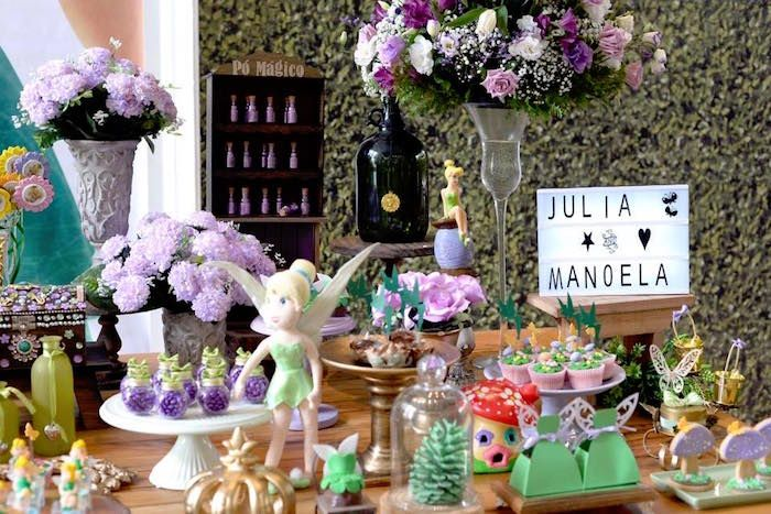 Decorating Ideas > Dessert Table Decor + Sweets From A Tinkerbell Fairy  ~ 194245_Birthday Party Ideas Galway