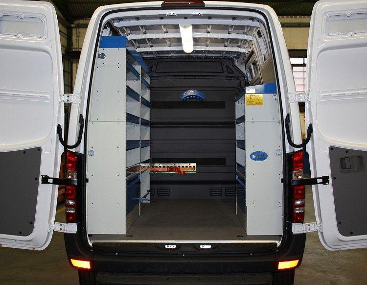 Mobili per furgoni volkswagen crafter 2006 l1 h2 03 garage pinterest volkswagen - Mobili per garage ...