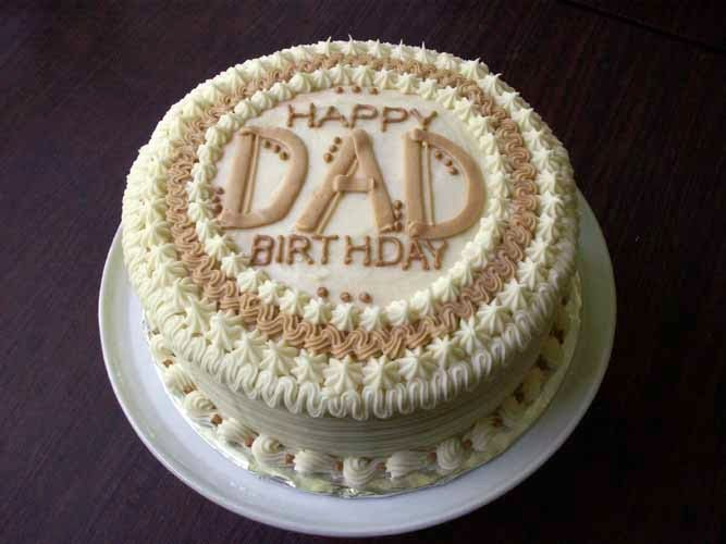 Happy Birthday Dad Cake decor Pinterest Happy birthday dad