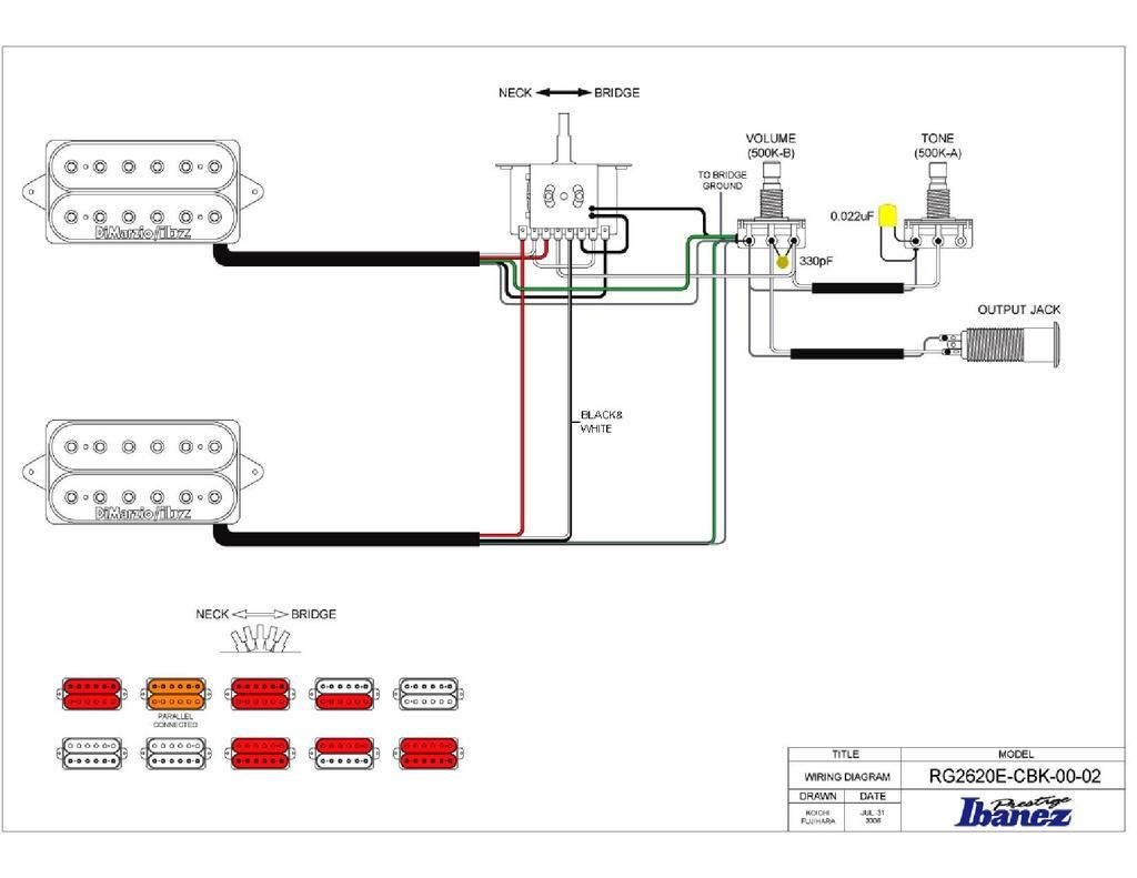 Ibanez Gio Soundgear B Wiring Diagram