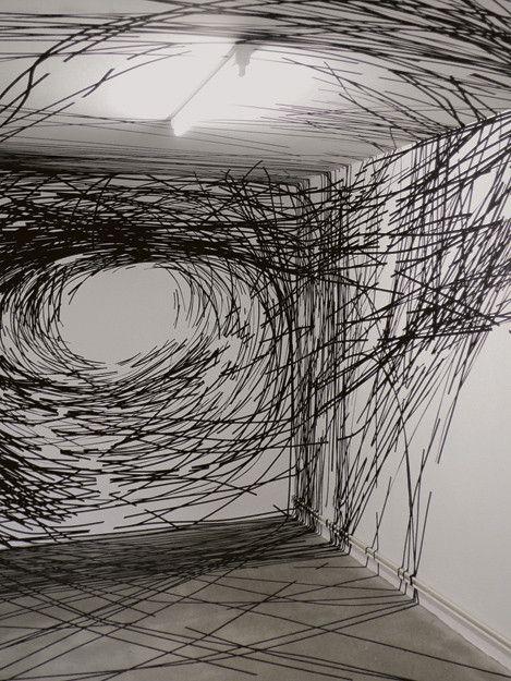 44 idées de Monika Grzymala | art contemporain, tape art, art