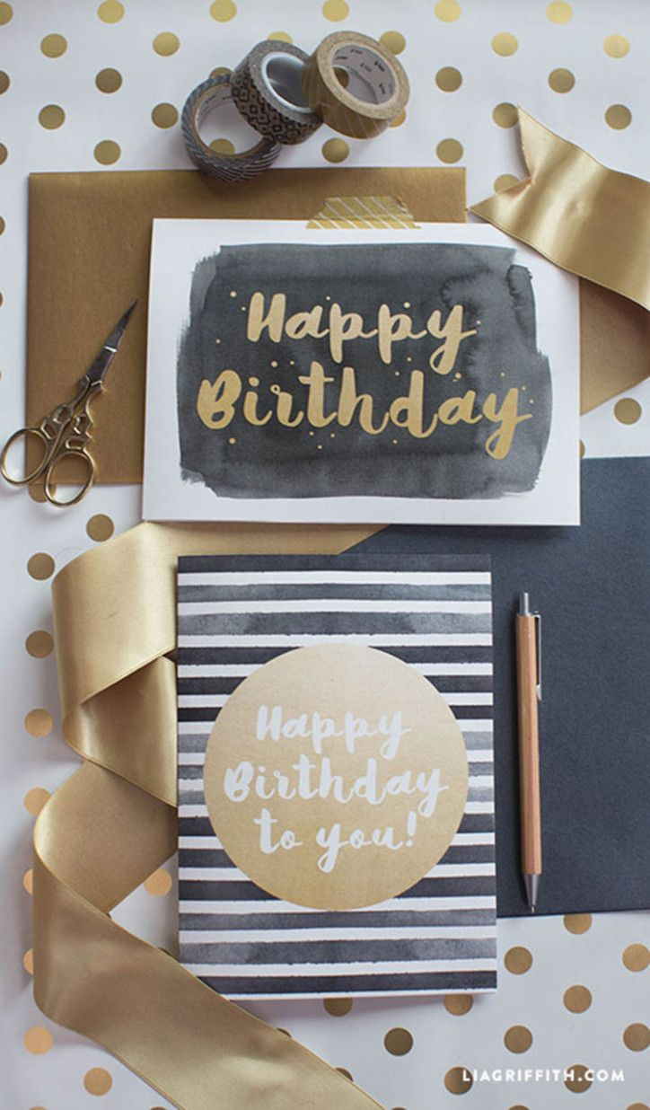 Modern Happy Birthday Card Lia Griffith Mama Geburtstagskarten Geburtstagskarten Fur Manner Do It Yourself Geburtstag