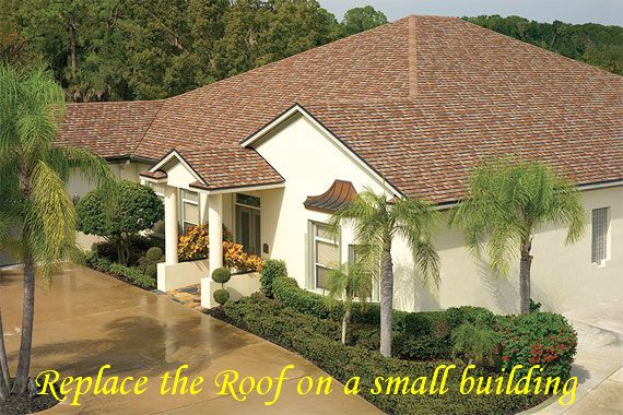 When The Roof On A Building Begins To Deteriorate You Should Replace The Roof As Soon As Possible To Prev Roofing Contractors Architectural Shingles Shingling