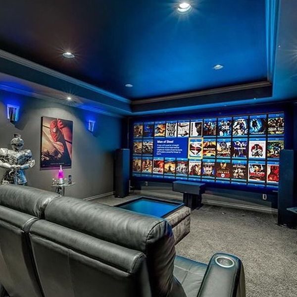 Cinema Room, Home Theater Design, Show Home