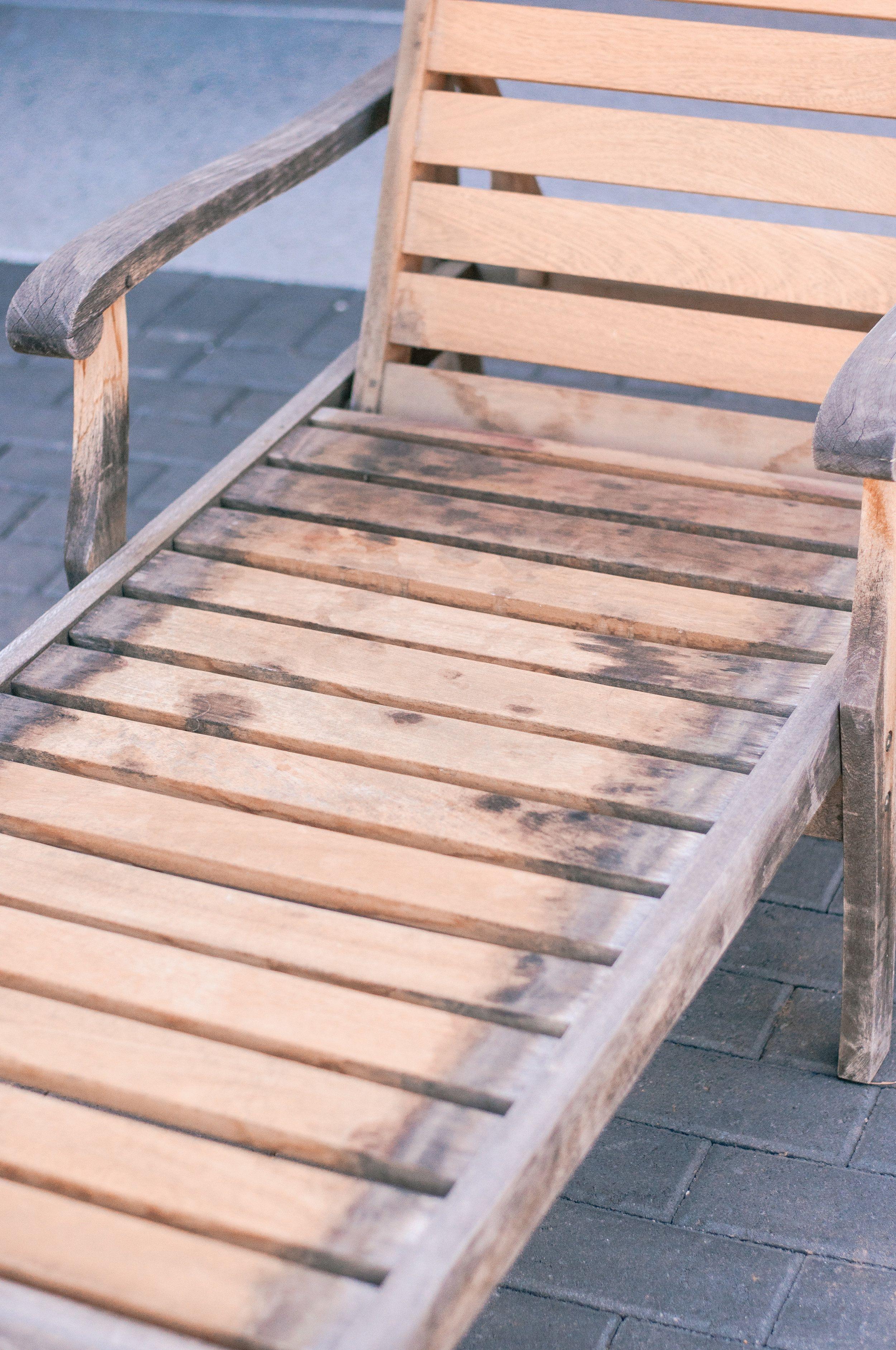 How To: Outdoor Teak Wood Furniture Restoration