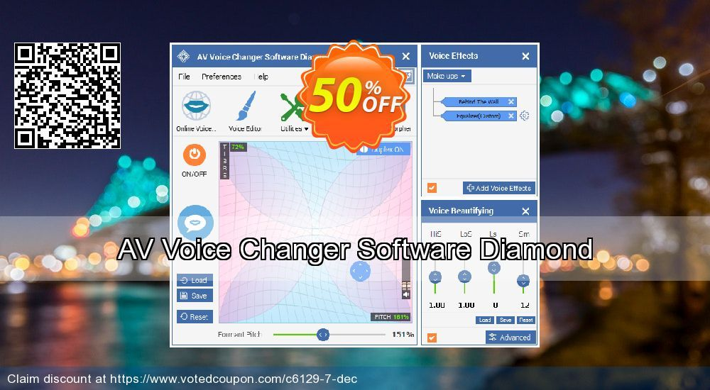 AV Voice Changer Software Diamond Coupon 40% discount code, Jun 2019
