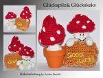 Häkelanleitung, DIY - Glückspilz und Glückskeks - Ebook, PDF