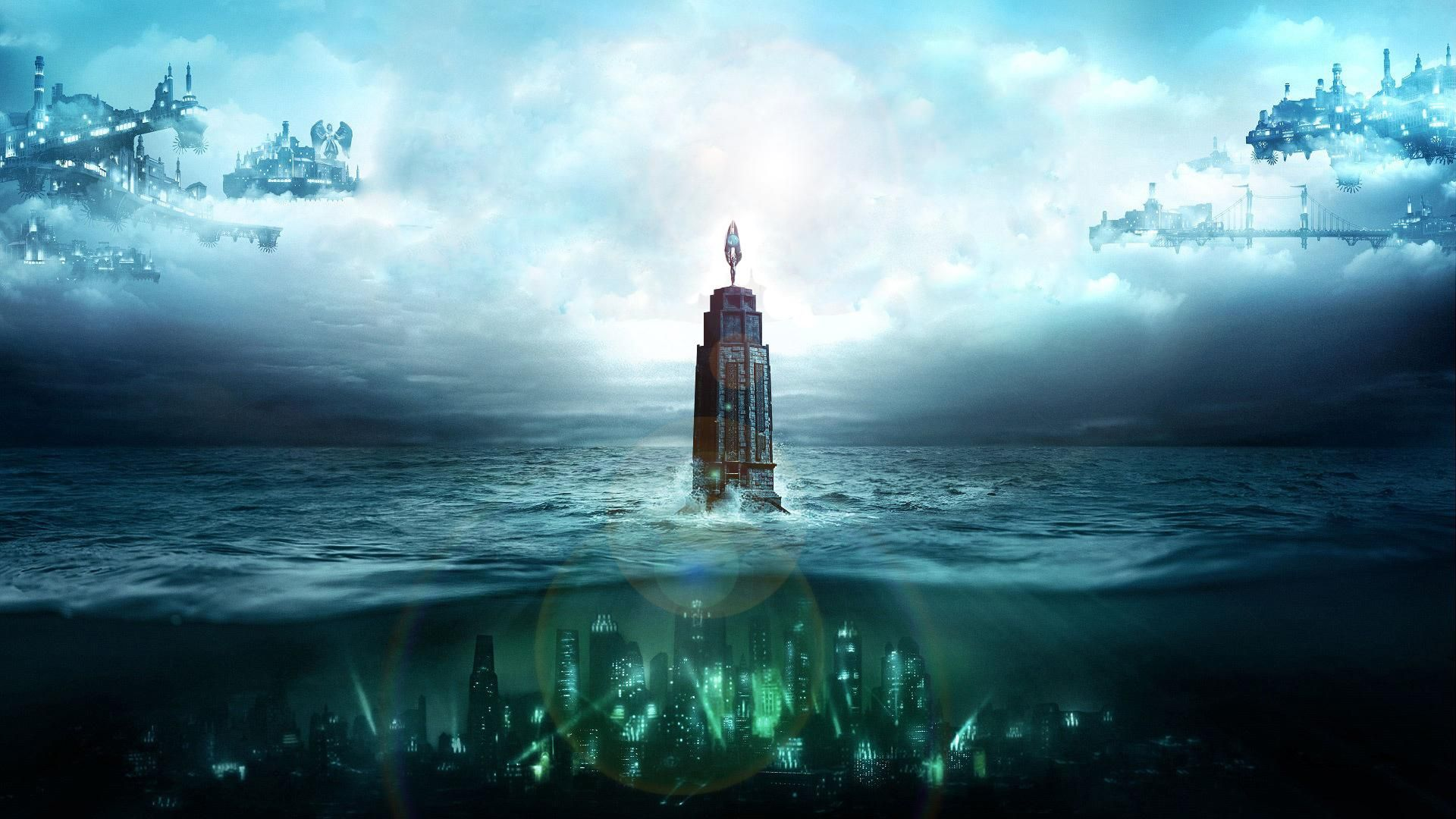 There S Always A Lighthouse There S Always A City 1920x1080 R Wallpapers Bioshock Bioshock Collection Bioshock Rapture