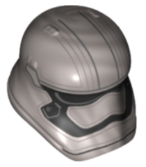 minifigure LEGO Star Wars Captain Phasma Pointed mouth pattern