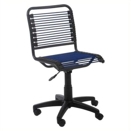 Bungie Low Back Blue Graphite Black Office Chair