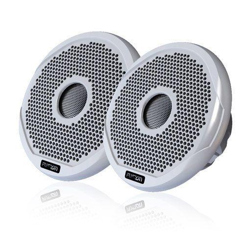 Fusion Marine AM FM Bluetooth Marine Receiver 4X Fusion 4 2 Way Speakers Wire