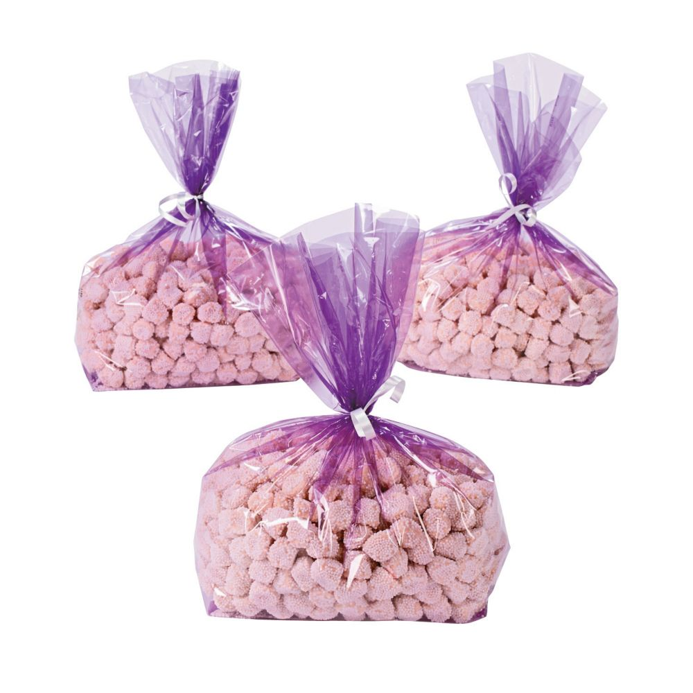Purple Goody Cellophane Bags | Cellophane bags, Goodies and Bag
