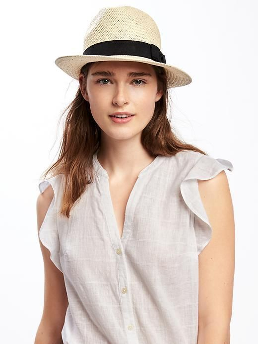783abe06 Old Navy Straw Panama Hat for Women | Products in 2019 | Fashion ...