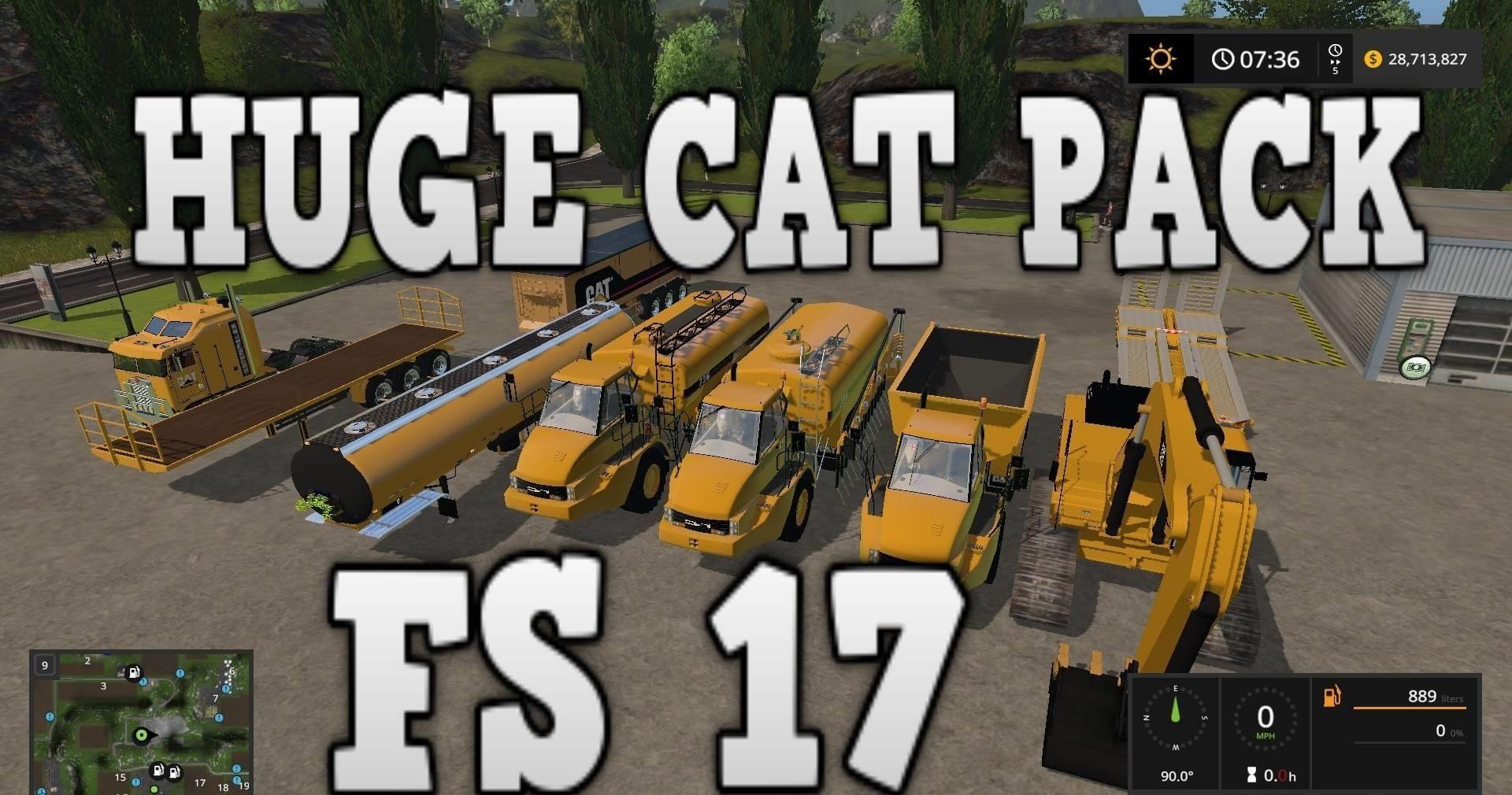 HUGE CAT PACK V2 0 FS17 - Farming Simulator 17 mod / FS 2017 mod