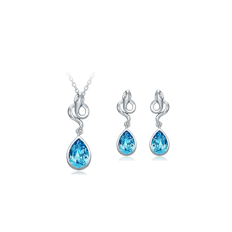 Diamond2Deal Sterling Silver Polished Green Glass Post Earrings