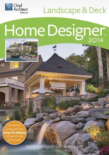 Home Designer Landscape And Decks 2014 Download With Images Landscaping Software Beautiful Home Designs Chief Architect