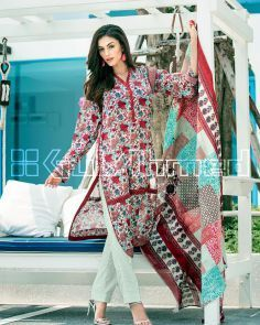2c9318e2bb Women's Lawn Suits: Summer Collection 2015 Online in Pakistan - Daraz.pk