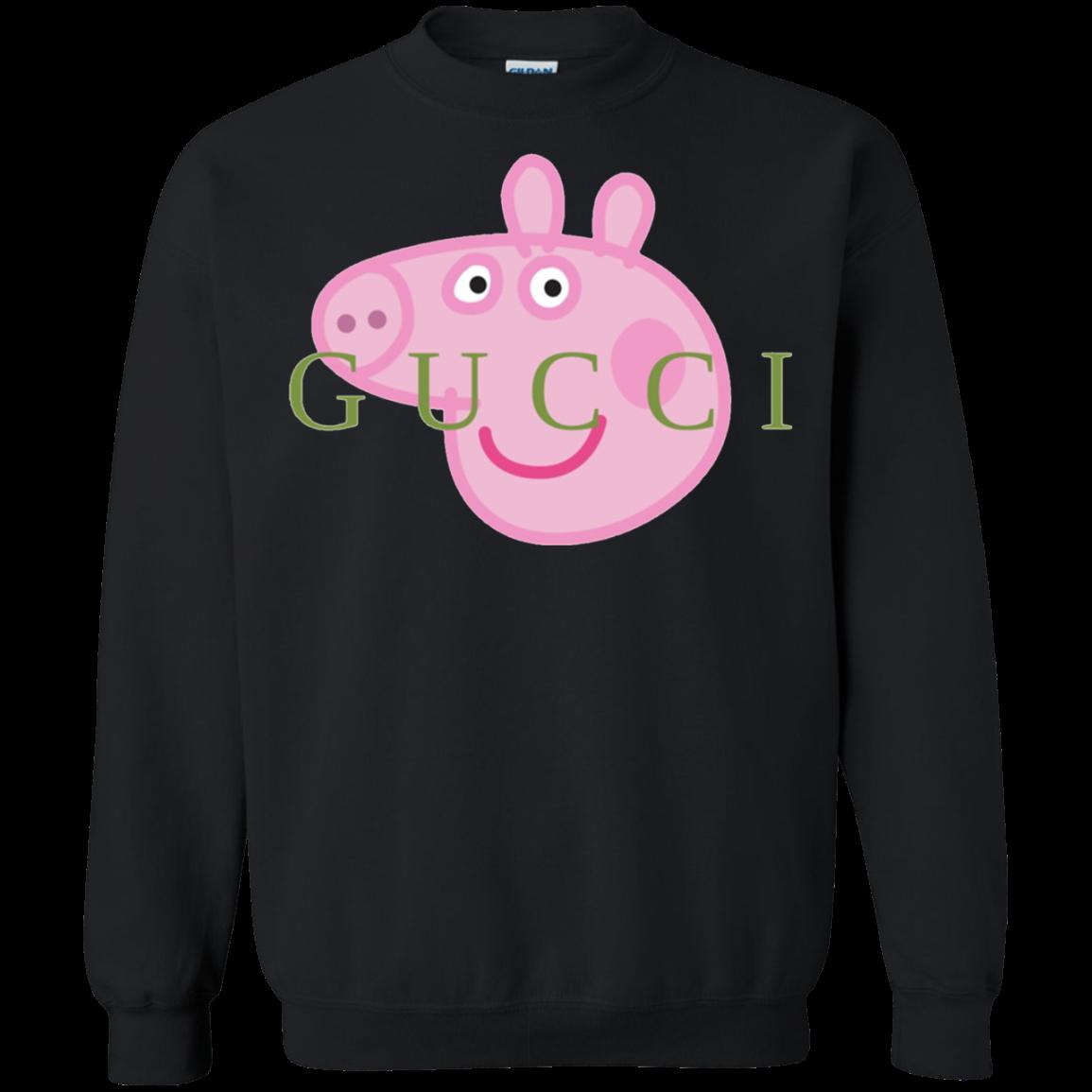 Peppa Pig Gucci Sweater Sweatshirts Gucci Sweater Fun Sweatshirts [ 1155 x 1155 Pixel ]