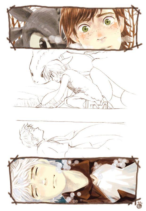 Story illustration. (: