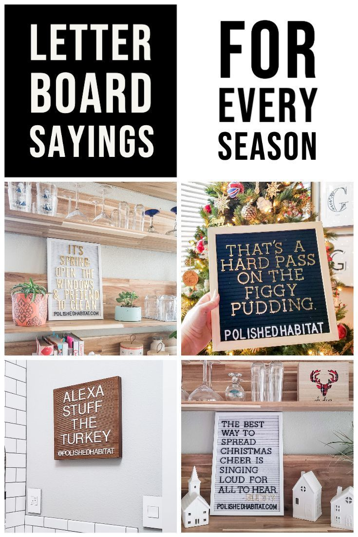 Do you need inspirational or funny ideas for letter boards