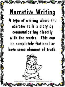 Narrative Writing Unit for the Common Core | Blogs | Narrative