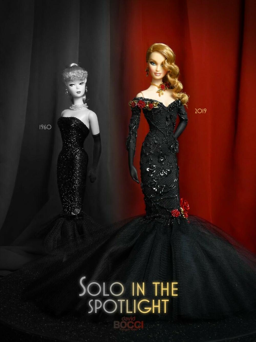 Ooak barbie doll solo in spotlight by David bocci for spanish doll convention | eBay #spanishdolls