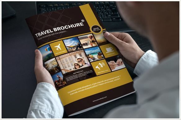 Refreshing Travel Brochure Templates For Your Travel Company