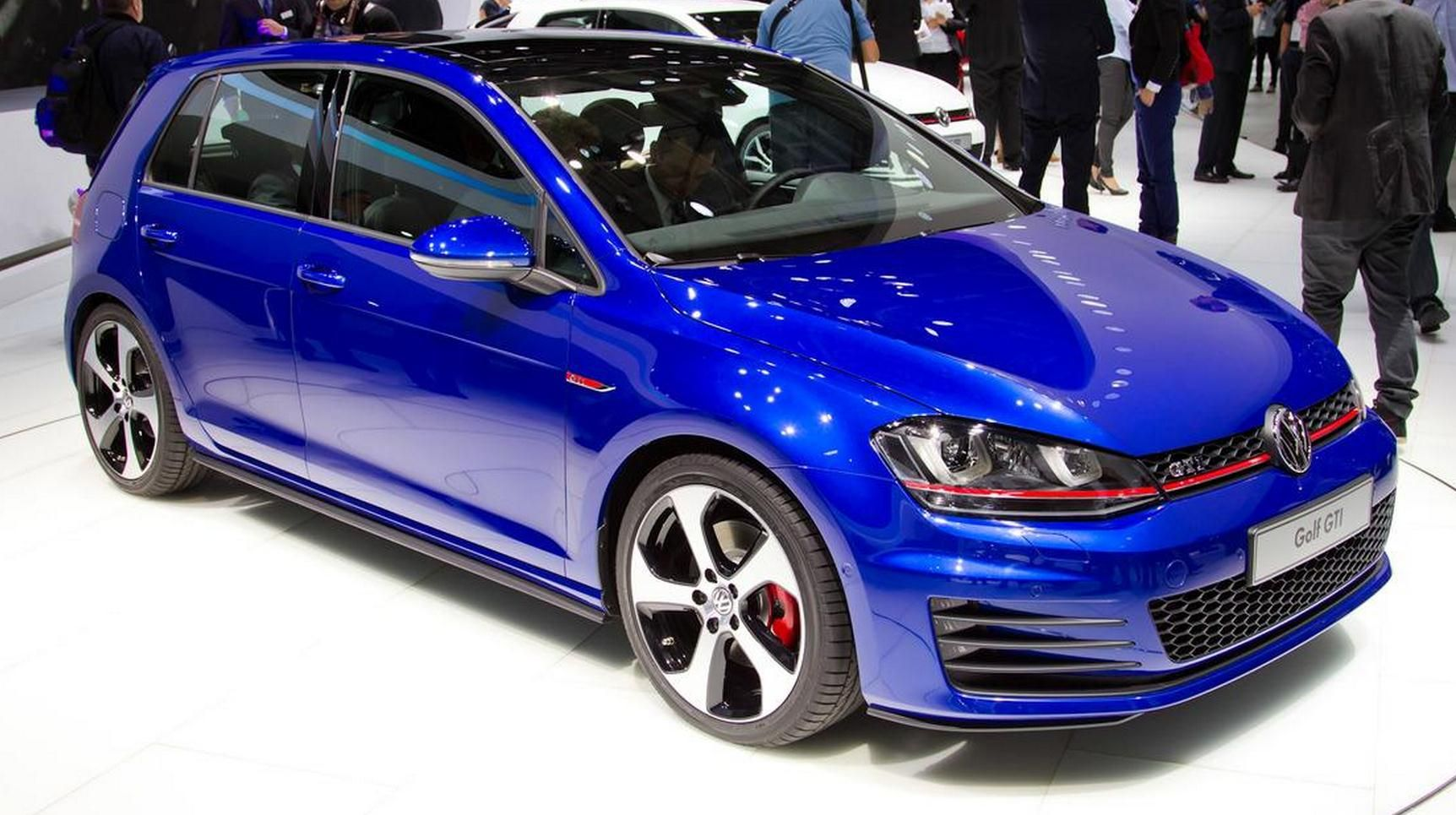 VW GOLF 7 GTI (blue :) | Cars | 2014 volkswagen gti ...