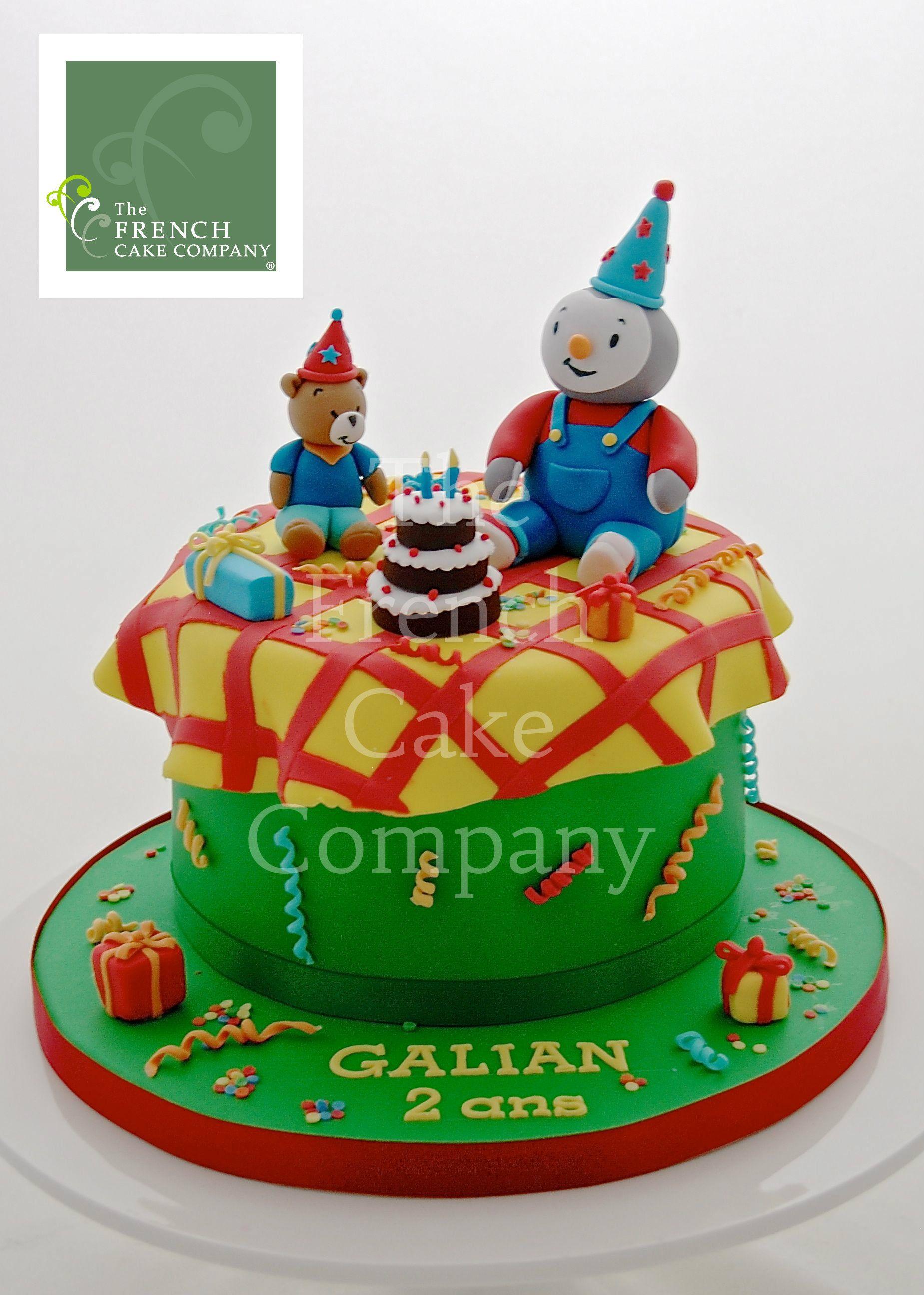 Childrens birthday cake tchoupi gateau d 39 anniversaire pour enfants bebe tchoupi - Tchoupi tchoupi ...