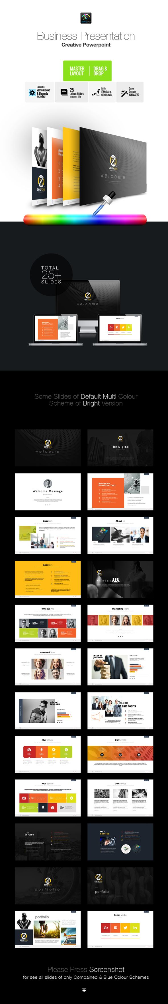Corporate Business Powerpoint  Powerpoint Templates Presentation