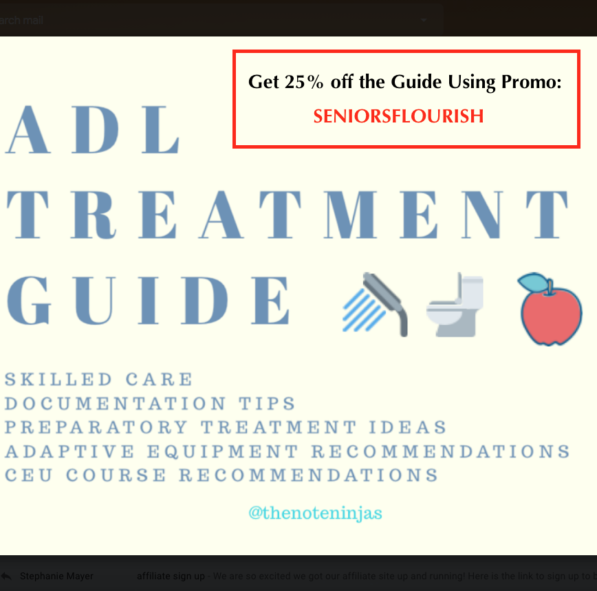 Adl Treatment Guide Occupational Therapy Activities Occupational Therapy Assistant Occupational Therapy