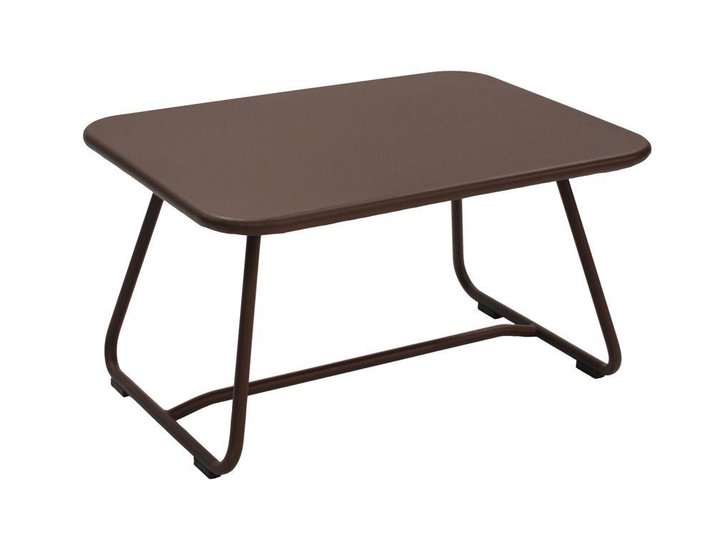 Mobilier Sixties : #Table basse de jardin #Couleur Rouille #Design ...