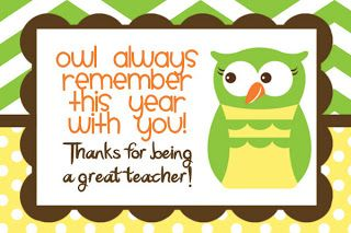 Free Teacher Thank You Card Free Teacher Appreciation Card