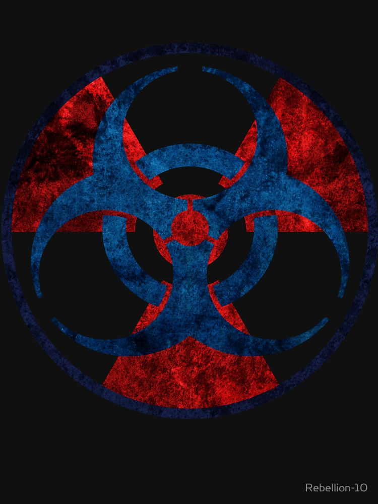 Biohazard And Radioactive Symbol Unisex T Shirt Pinterest