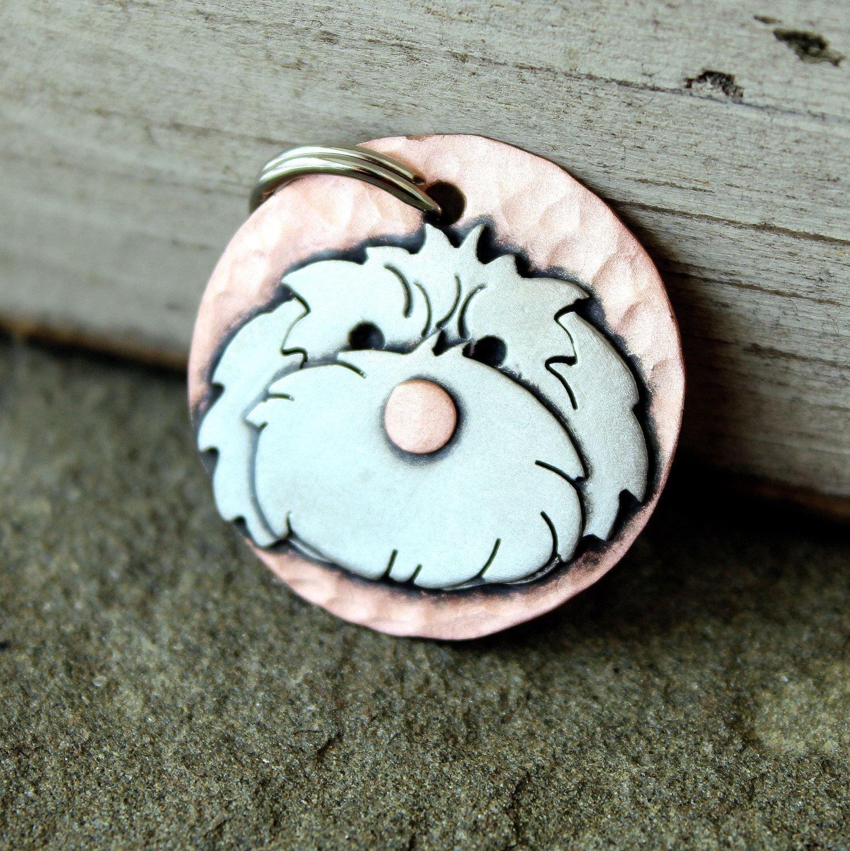 Dog tag dog id tag pet tag dog tags custommaltese shih