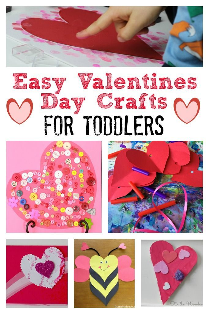 Valentines Day Crafts For Toddlers School Preschool And Tot